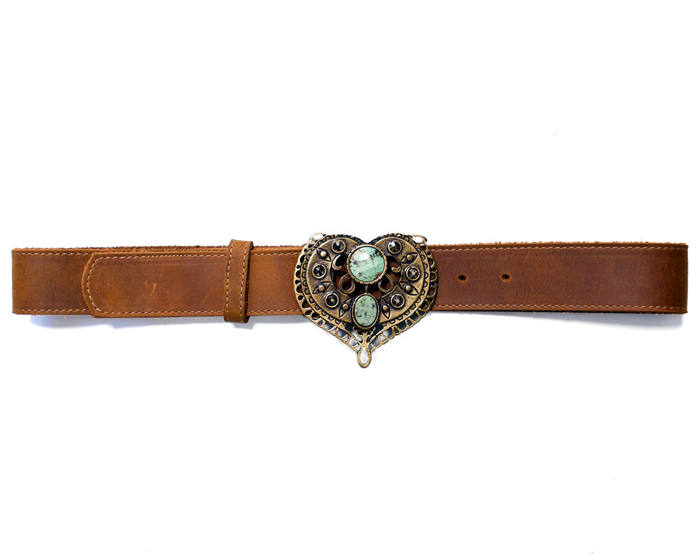 Men's Genuine belt with snaps