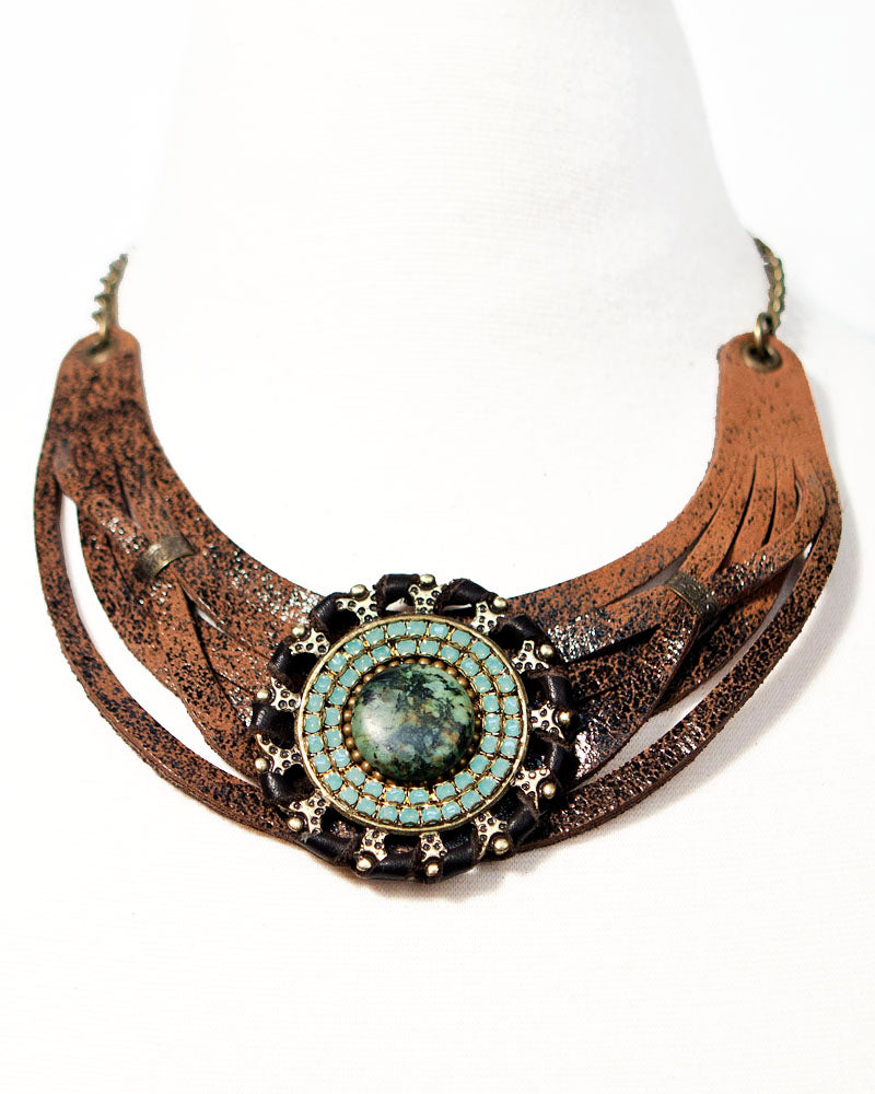 Melanie Bib Necklace