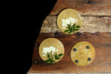 Load image into Gallery viewer, Handpainted mogra coasters(set of 4)