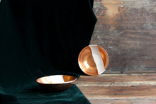 Load image into Gallery viewer, Handpainted wabi sabi copper bowl