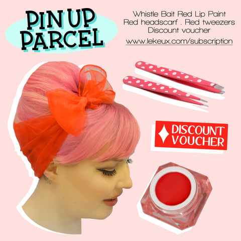 Pin Up Parcel - Cosmetics & Accessories Subscription Service