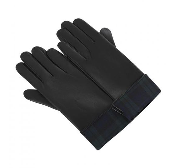 Collectif Blackwatch PU Gloves