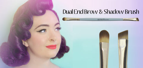 Le Keux Cosmetics Brow and Shadow Brush