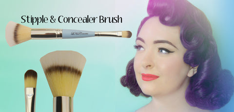Le Keux Cosmetics Stipple and Concealer Brush