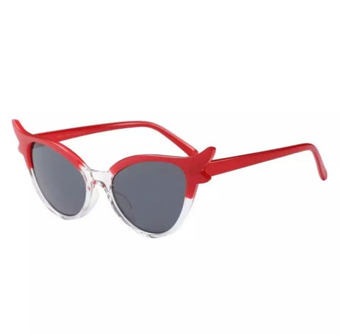 Red Pinup Cateye Sunglasses