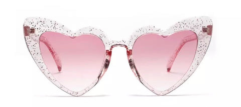 Heart Cat Eye Vintage Shades (various colours)