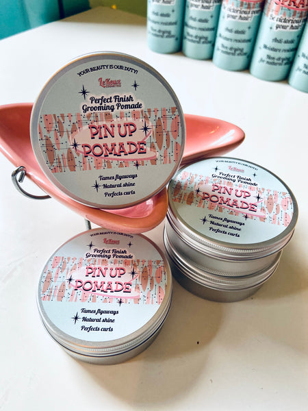 Pin Up Pomade (For Smoothing & Finishing)