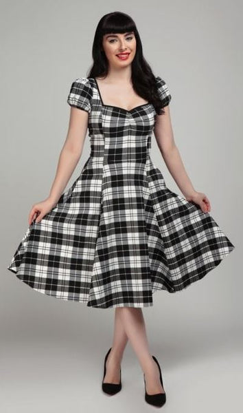 Collectif Mimi Monochrome Dress