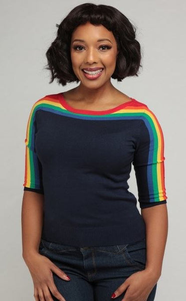 Collectif Rina Rainbow Top