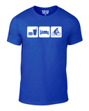 Eat Sleep Cycle Cotton Cycling T Shirt - THREADS UP CLOTHING - T Shirts & Hoodies