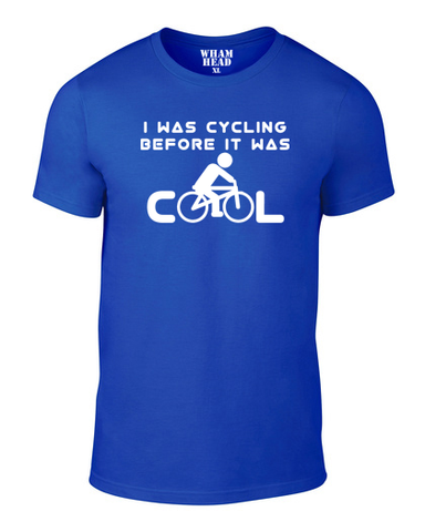 Before It Was Cool Cotton Cycling T Shirt - THREADS UP CLOTHING - T Shirts & Hoodies