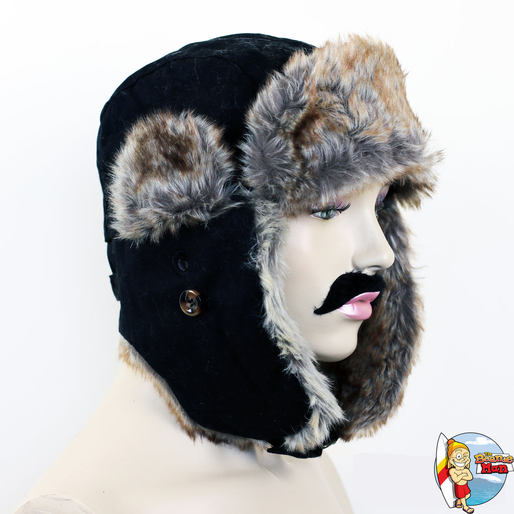 The Beanie Man 'Dapper' Unisex Trapper Hat - THREADS UP CLOTHING - T Shirts & Hoodies