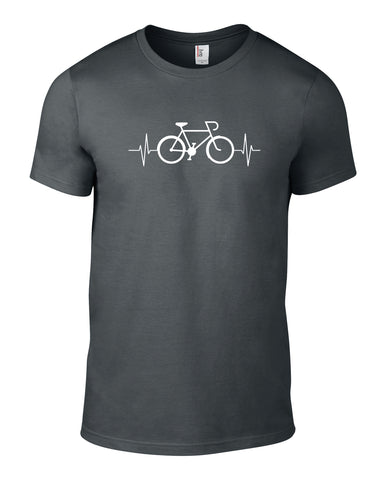 Bike Lifeline Cotton Cycling T Shirt - THREADS UP CLOTHING - T Shirts & Hoodies