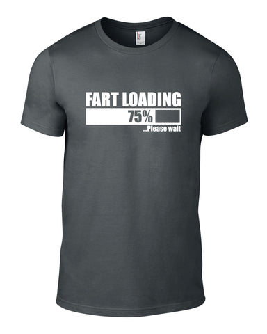 Fart Loading Cotton Funny T Shirt - THREADS UP CLOTHING - T Shirts & Hoodies