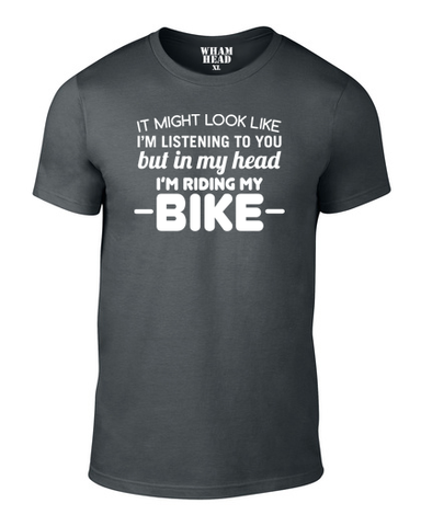 It Might Look Like Cotton Cycling T Shirt - THREADS UP CLOTHING - T Shirts & Hoodies