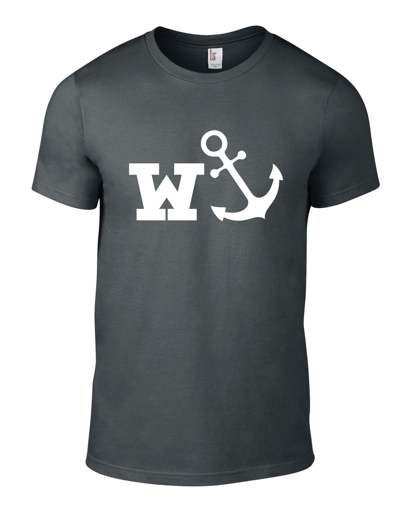 W-Anchor Cotton Funny T Shirt - THREADS UP CLOTHING - T Shirts & Hoodies
