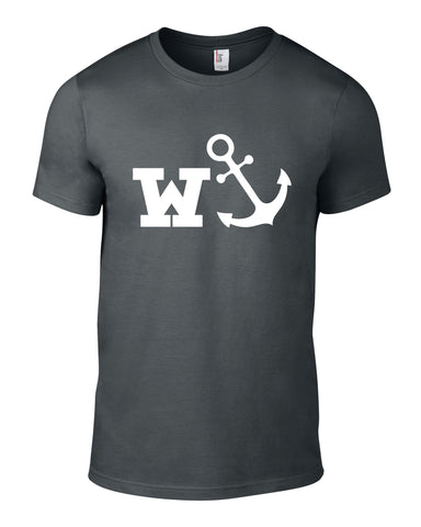 W-Anchor Cotton Funny T Shirt - WHAMHEAD CLOTHING - T Shirts & Hoodies