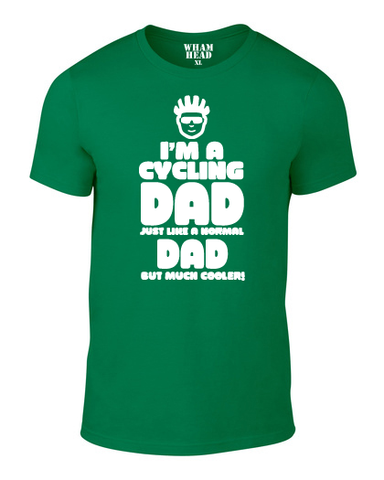 Cycling Dad Cotton T Shirt - WHAMHEAD CLOTHING - T Shirts & Hoodies