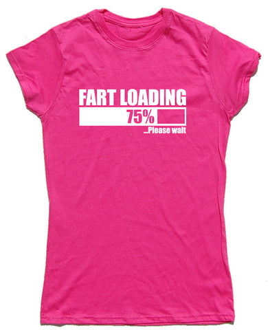 Fart Loading Fitted Cotton Funny T Shirt - WHAMHEAD CLOTHING - T Shirts & Hoodies