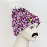 The Beanie Man 'Twisty' Knitted Bobble Beanie Hat