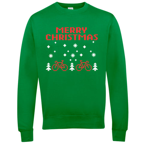 Merry Christmas Retro Cycling Xmas Jumper - WHAMHEAD CLOTHING - T Shirts & Hoodies
