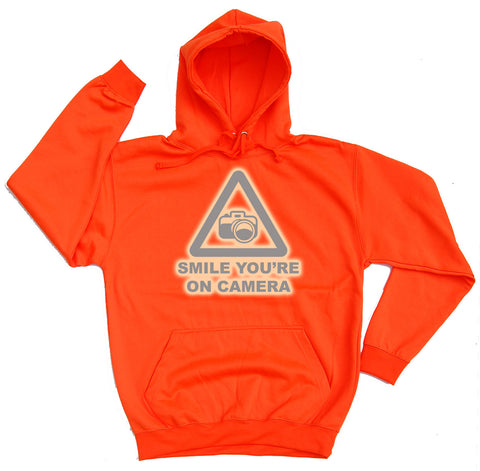 Smile You're On Camera Reflective Horse Riders Hoodie - THREADS UP CLOTHING - T Shirts & Hoodies