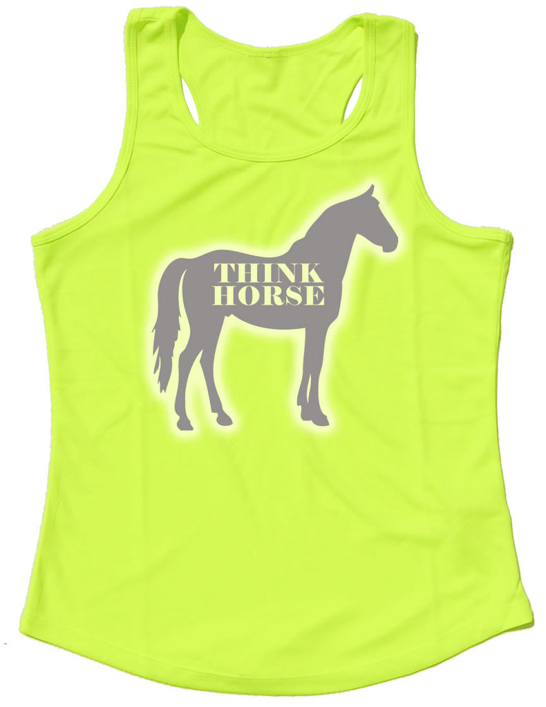 Think Horse Silhouette Reflective Quick Dry Horse Riders Vest - THREADS UP CLOTHING - T Shirts & Hoodies