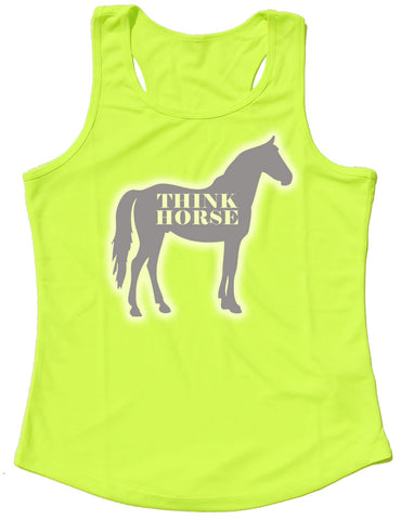 Think Horse Silhouette Reflective Quick Dry Horse Riders Vest