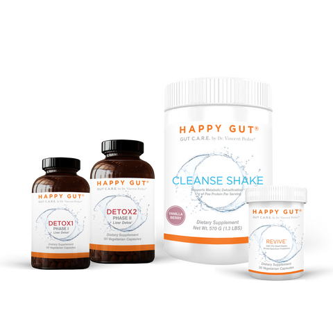 HAPPY GUT RESET:  7-Day Detox