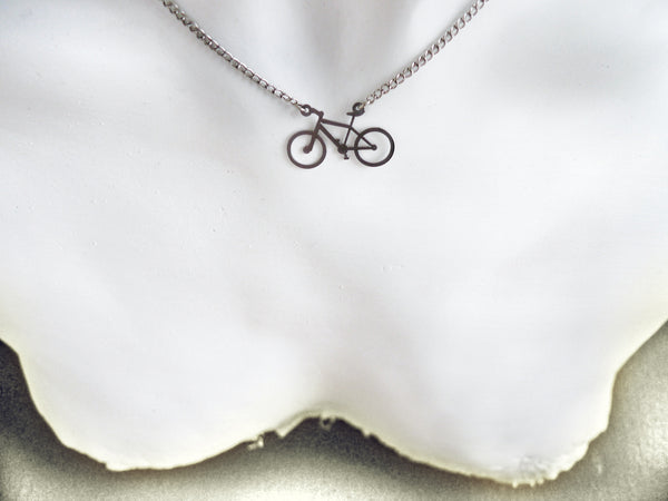 Mountain Bike Necklace - Melissa Osgood Studio Store - 2