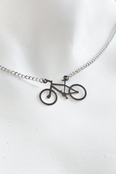 Mountain Bike Necklace - Melissa Osgood Studio Store - 1
