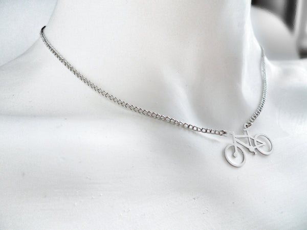 Mountain Bike Necklace - Melissa Osgood Studio Store - 3