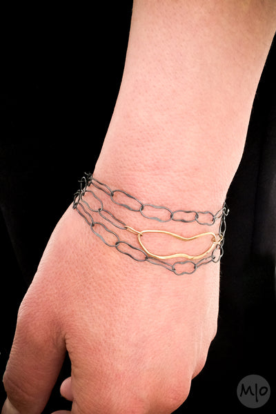 Figure Wrap Bracelet, 18KY Gold