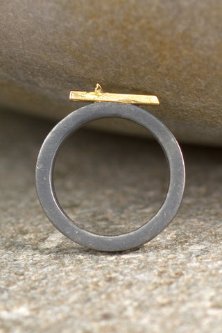 Precious Imperfection Ring - Melissa Osgood Studio Store - 1