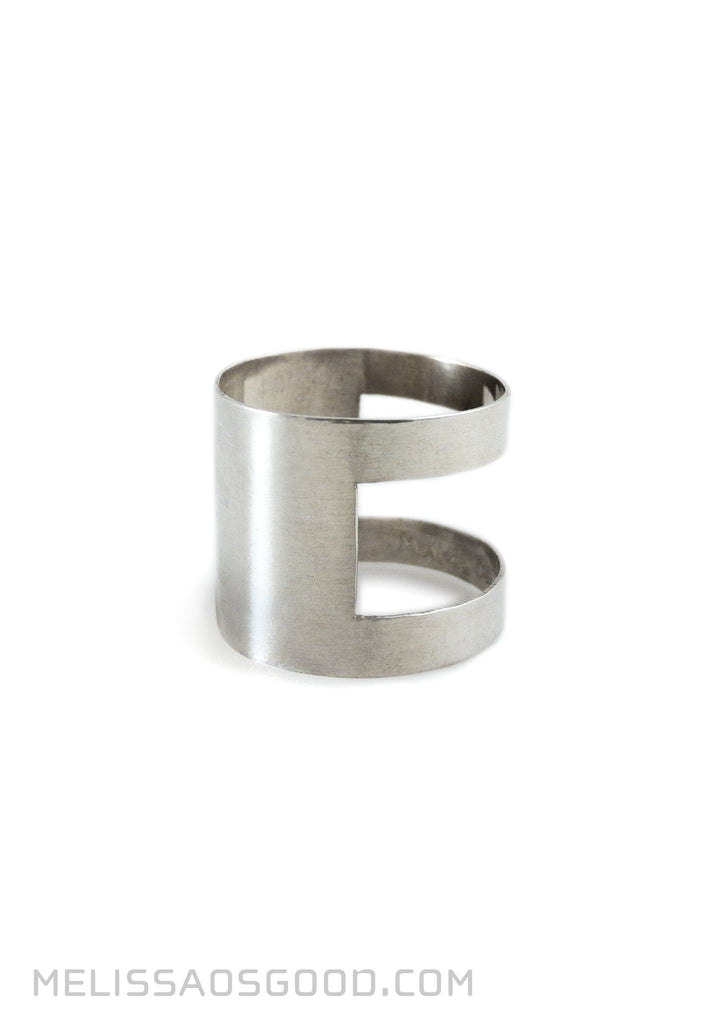 Banded Ring Polished, HIGH Profile