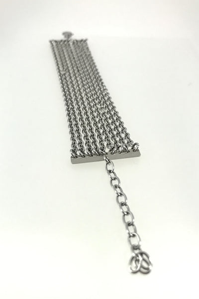 Stainless Steel Chain Bracelet, Small Links