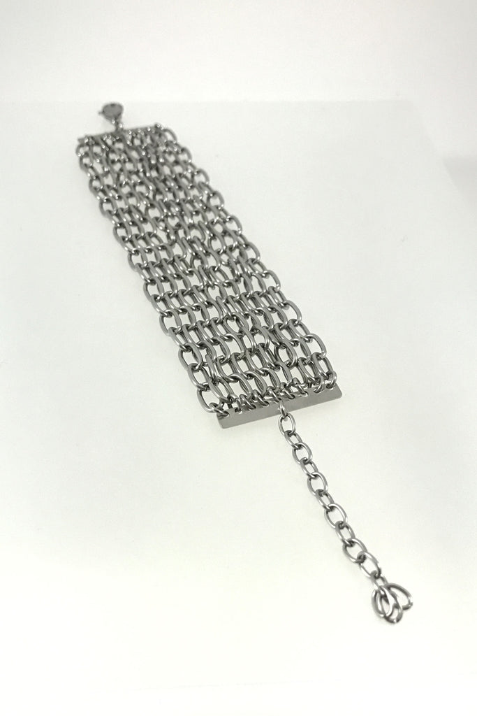 Stainless Steel Chain Bracelet, Large Links