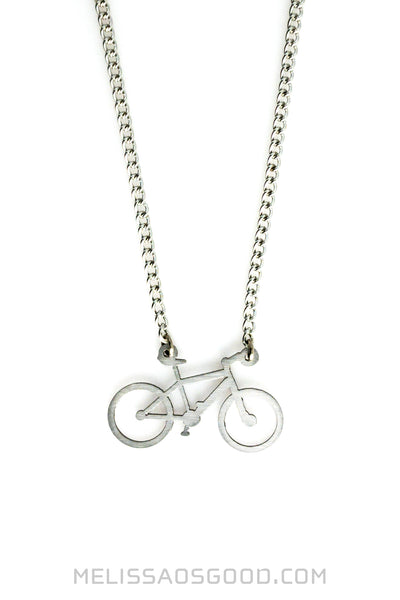 Mountain Bike Necklace