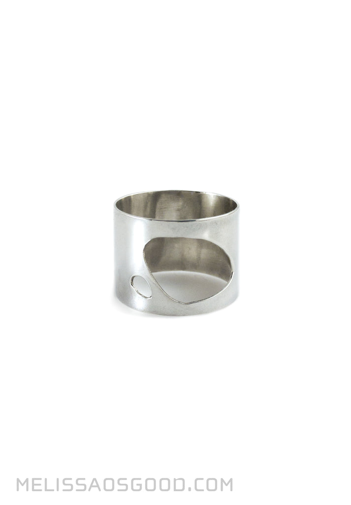 Pebble Ring Polished, MEDIUM Profile