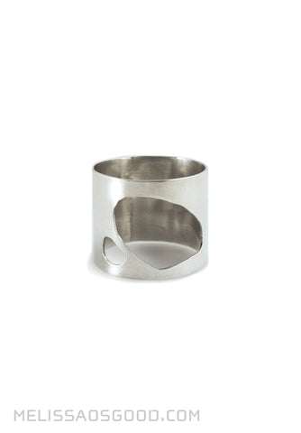 Pebble Ring Polished, HIGH Profile