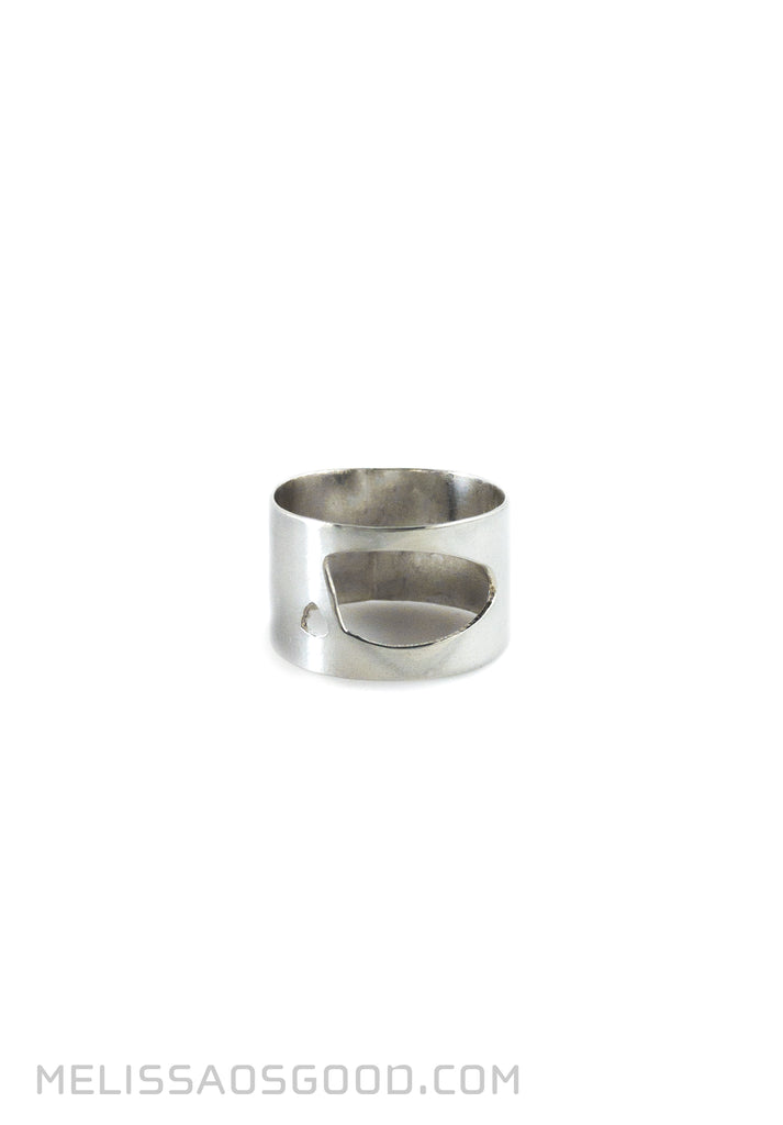 Pebble Ring Polished, LOW Profile
