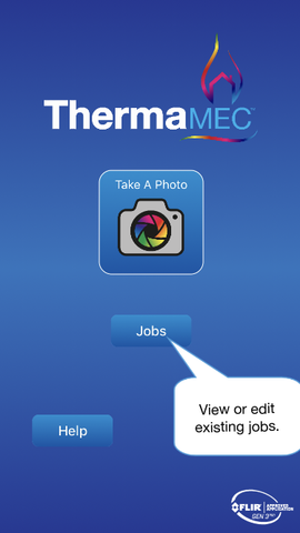 Thermafy user guide, how to view jobs