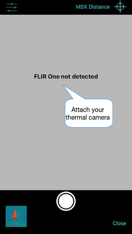 Thermafy user guide, how to attach camera