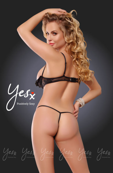 YesX Yesx YX200 Teddy Black BlackS/M