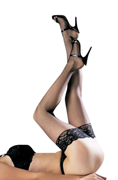 YesX Yesx YX411 Stockings Black  BlackS/M