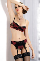 Gracya Mon Amour Bra Black/Red38C