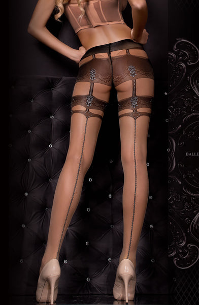 Ballerina Ballerina 307 Tights Nero (Black)/Skin B
