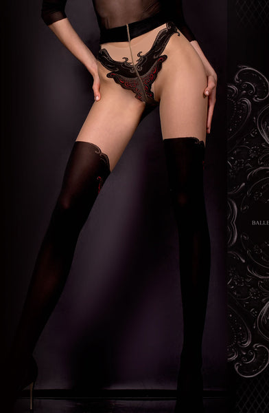 Ballerina Ballerina 309 Tights Nero (Black)/Skin B