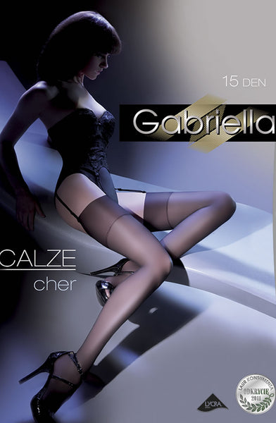 Gabriella Cher Stockings Nero (Black)3/4 (M/L)