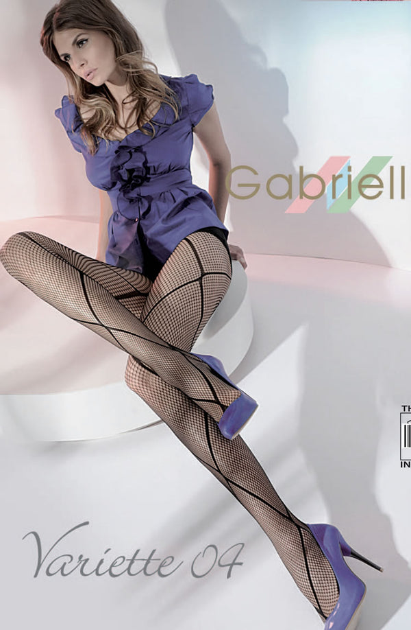 Kabaretta Collant Varietta 04-233 Tights Nero